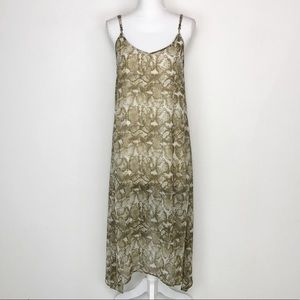 Show Me Your MuMu Snake Print Maxi Dress